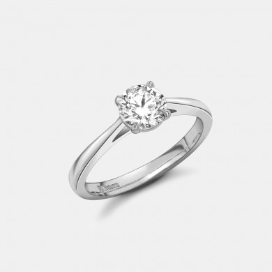 The Classic Platinum 0.70ct Solitaire Ring