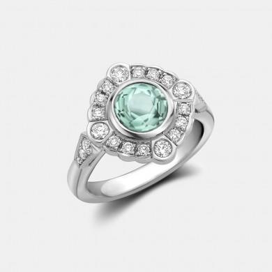 The Paraiba Tourmaline Ring