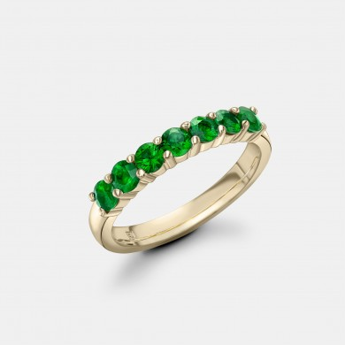 The Yellow Gold and Emerald...