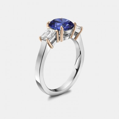 The Blue Sapphire and...