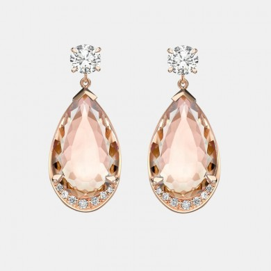 The Morganite and Diamond...