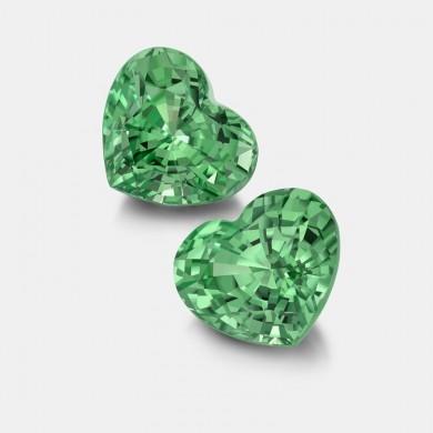 Heart Shaped Green...