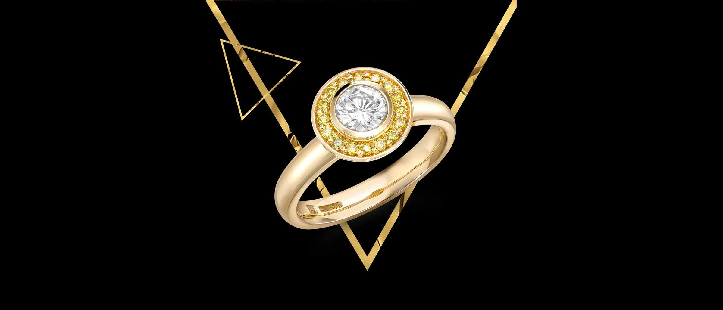 Timeless Gold Jewellery from Robert Bicknell Fine Jewellery